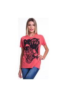 Camiseta Jazz Brasil Jazz Star Vermelha