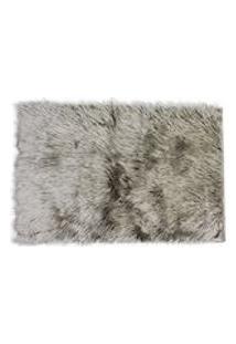 Tapete Em Pele Sintetica Alasca Artex - Standard - Cinza