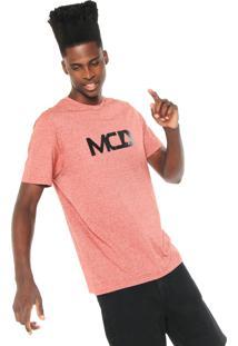 Camiseta Mcd Mescla Laranja
