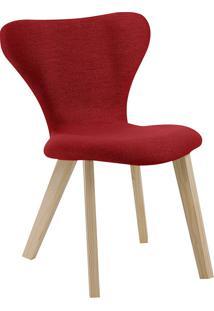 Cadeira Açaí F45-3 Linhão – Daf Mobiliário - Vermelho