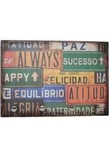 Porta Chaves Libby´S Placa Always Vintage - Kanui