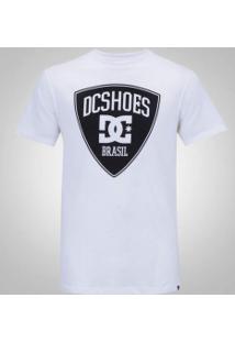 Camiseta Dc Brasil - Masculina - Branco