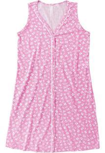 Camisola Curta Floral Malwee Liberta Rosa Claro - P