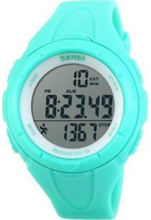037ce0e5cf0 Dafiti. Relógio Skmei Pedômetro Digital 1108 Verde