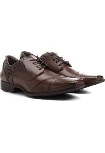 Sapato Social Mariner Amarração Textura Masculino - Masculino