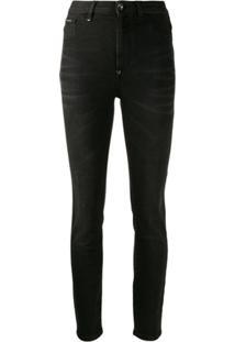Philipp Plein Classic Skinny-Fit Jeans - Preto