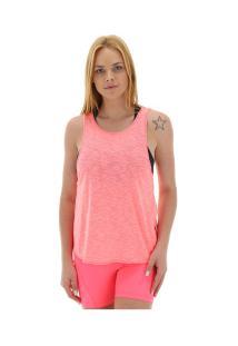 Camiseta Regata Fila Double Fantasy - Feminina - Rosa Claro