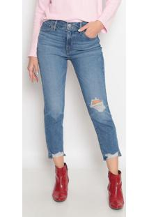 Jeans 724™ High Rise Straight Cropped- Azullevis