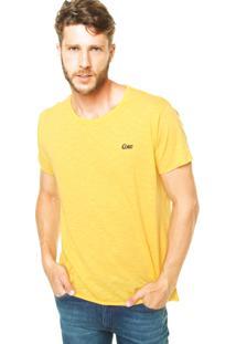 Camiseta Coca-Cola Jeans Reta Amarela