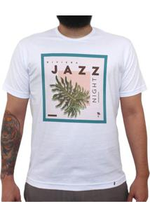 Riviera Jazz Night - Camiseta Clássica Masculina