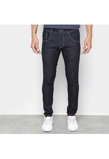 Calça Jeans Skinny Biotipo Fit Soft Masculina - Masculino-Azul Escuro