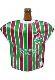 Bolsa Térmica Em Forma De Camisa Fluminense - Unissex-Vermelho+Verde