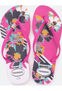 Chinelo Feminino Slim Thematic Havaianas