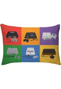 Fronha Para Travesseiros Nerderia E Lojaria Video Games Colorido