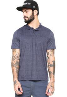 Camisa Polo Quiksilver Heather Azul