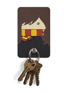 Porta Chaves Ecologico Bruxinha Hermione Harry Potter