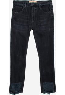 Calça John John Rock Capri Missouri Jeans Preto Masculina (Jeans Black Escuro, 40)