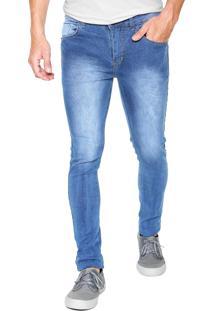 Calça Jeans Fiveblu Skinny Portland Azul