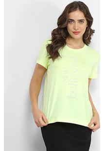 Camiseta Forum She Believied Feminina - Feminino