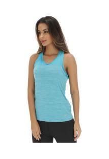 Camiseta Regata Asics Color Tank - Feminina - Azul/Azul Claro