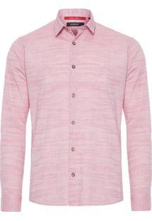 Camisa Masculina Gaze - Rosa