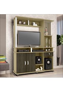 Estante Para Tv Até 32 Polegadas Luxo 3022 Jb Bechara Avelã/Teka