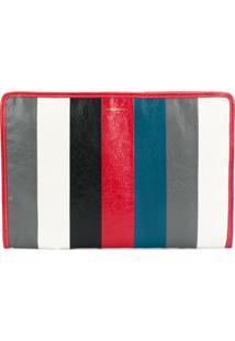 Balenciaga Clutch 'Bazar' De Couro - Vermelho