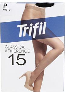 Meia Calça Trifil Adherence Feminina - Feminino-Preto