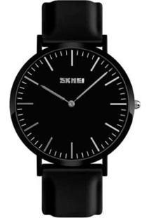 Relógio Skmei Analógico 9179 Feminino - Feminino-Preto