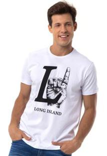 Camiseta Long Island Hand - Masculino
