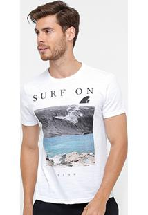 Camiseta Tigs Surf On Masculina - Masculino