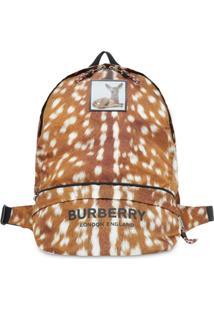 Burberry Pochete Com Estampa - Marrom