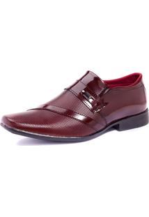Sapato Social Verniz Franboots Vinho