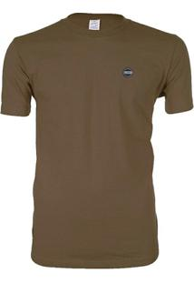 Camiseta Blanks Co California Tubular Mocha - Masculino
