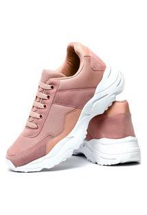 Tênis Sneaker Impulsion X-Try Feminino Nude