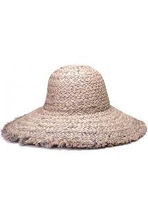 Chapéu De Praia Rafia