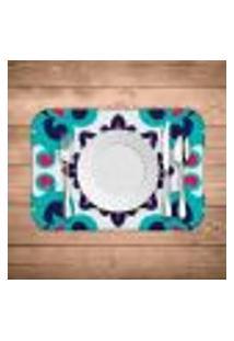 Jogo Americano Wevans Mandala Color Kit Com 4 Pçs
