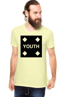 Camiseta Rgx Youth Amarela Claro