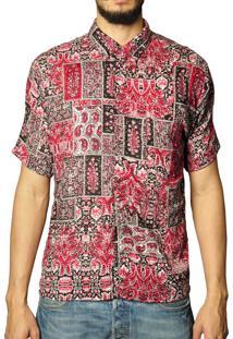 Camisa Andy Roll Clothing Medellin Vermelha