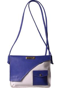 ... Bolsa Transversal Artlux - Feminino-Azul 29c53ee64f