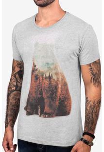 Camiseta Bear Mescla Escuro 103399