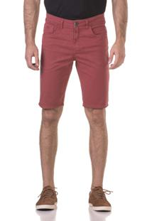 Bermuda Docthos Jeans Vinho