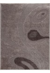 Tapete Jazz- Cinza & Marrom Escuro- 250X200Cm- Ooasis