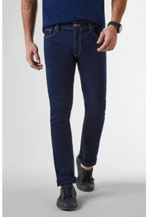 Calça Jeans Reserva Estique-Se Buriti Masculina - Masculino-Azul Petróleo