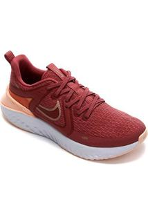 Tênis Nike Legend React 2 Feminino - Feminino-Vermelho