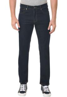 Calça Jeans Five Pocktes Straight Ckj 035 Straight - Marinho - 38