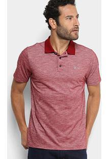 Camisa Polo Hurley Start Masculina - Masculino-Vinho