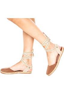 Alpargata Dafiti Shoes Recorte Caramelo