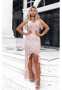 000125510a03 Vestido Babado Renda feminino | Shoelover