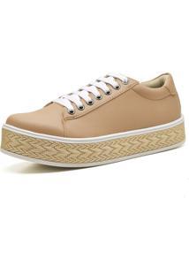 Tênis Casual Trivalle Shoes Rosê